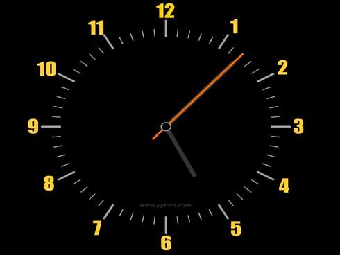 xp动态时钟屏保下载_时钟电脑屏保程序-